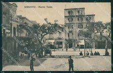 Napoli Sorrento cartolina XB3921
