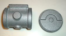 LIVE STEAM MODEL ENGINE CYLINDER & CRANK DISC CASTINGS CAST IRON