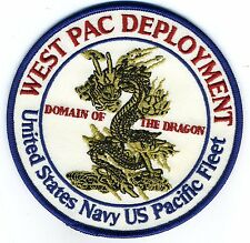 West Pac Deployment USN Pacific Fleet Domain of the Dragon-BCPatch Cat No. C6170