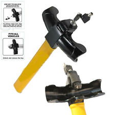ANTI-THEFT VEHICLE SECURITY ROTARY STEERING WHEEL LOCK-HIGH VISIBILITY UK
