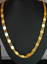 22k gold plated fashion, chain,elegant necklace sets indian asain, JEWELRY U17