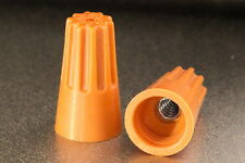 (500 pcs) Orange P3 Screw On Nut for Wire Size #14-22 Free Fast Priority Mail
