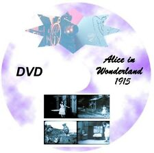 ALICE IN WONDERLAND 1915 * Silent Film * DVD * 1915