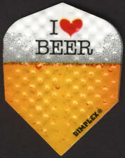 """I Love Beer"" Dimplex Dart Flights: 3 per set"