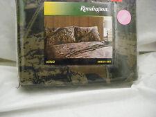 Remington CAMO Camoflauge Hunting Sportsman KING Sheet Set
