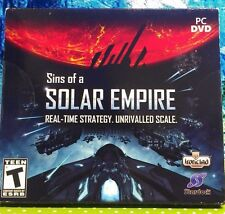 SINS OF A SOLAR EMPIRE (PC, 2010) DVD - BRAND NEW!! st#A1