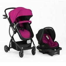 Baby Stroller And Car Seat Combo Infant Girl Urbini Omni 3 In 1 Travel System