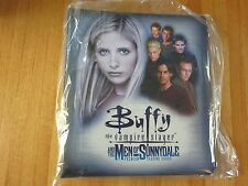 "NEW! INKWORKS ""BUFFY VAMPIRE SLAYER & THE MEN OF SUNNYDALE"" TRADING CARD BINDER!"
