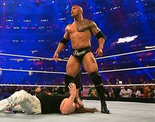 "THE ROCK WWE PHOTO WRESTLING STAR GENUINE OFFICIAL 8x10"" PROMO WRESTLEMANIA"