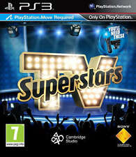PS3. TV Superstars - Move Compatible NEW AND SEALED UK STOCK