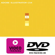 Adobe Illustrator CS4 – Professional Video Training Tutorial DVD - FREE P+P