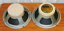 Celestion G12H 30 watts matched pair 1975 creambacks T1234