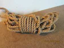 "SAILBOAT RIGGING LINE, 65' LONG x 3/4"" ACROSS"