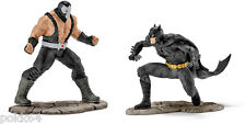 DC Comics pack 2 figurines Justice League #13 Batman vs. Bane Schleich 22540