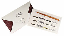 Brause Calligraphy Artists & Writing Dip Pen & 6 Nib Set (137B)