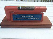 Ebony Magazine shea stadium box seat Railing...