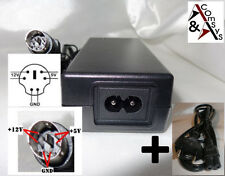 Alimentation Adaptateur 12v 5v 2a Fly power fly36w-5-12r Boîtier disque 6p # L