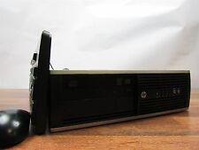 HP Compaq 8200 Elite SFF Quad Core i5-2400 3.1GHz 4GB RAM 250GB HDD DVD