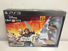 PS3 Disney Infinity 3.0 Edition Star Wars Starter Pack (OPENED BOX)