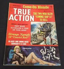 True Action June 1965 (6/65) The Two WhoBlew Commie Ship 14; Free Shipping!