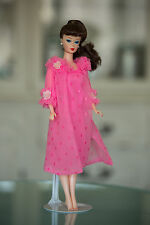 Vintage repro brunette ponytail  Barbie in vintage Dreamy Pink #1857