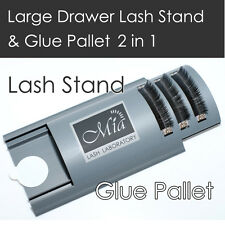 Curved Tile Large Lash Stand XD Volume Glue Pallet Drawer Eyelash Extension