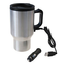 Stainless Steel Heated Travel Mug Flask