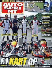 AutoSprint.Michael Schumacher,Sebastian Vettel, Liuzzi, Kubica,Jamie Alguersuari