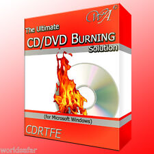 CD/DVD BURNING SOFTWARE for Windows! Copy CDs, DVDs or turn audio into mp3!