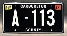 Cars / Pixar / Tow Mater's A-113 *METAL STAMPED* Replica Prop License Plate