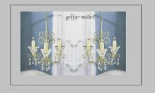 2 lot hanging princess SHABBY CHANDELIER candle holder Wedding event Centerpiece