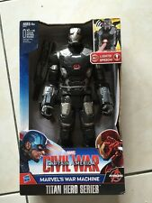 Hasbro titan hero series Avengers Marvel Civil War War Machine (Iron Man) NEW