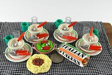Kitchen Littles Meal Miniature Food Dollhouse Accessories Barbie Doll 1/6 Scale