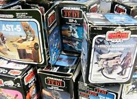VINTAGE STAR WARS ORIGINAL BOXED MINI-RIGS - MANY TO CHOOSE FROM !