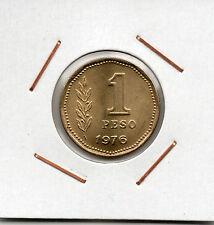 Argentina : 1 Peso 1976 UNC