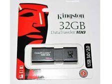 Kingston USB 3.0 DataTraveler DT100G3/32GB 32GB 32G USB3.0 USB3 Flash Pen Drive
