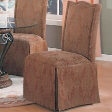 Coaster Home Furnishings Brown Parson Chair-Set Of 2 190042 CHAIR NEW