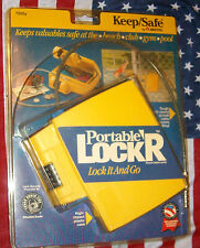 portable locker keep/safe lock and go by sentry great for boats new in package