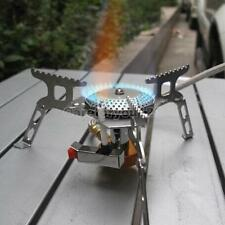 PORTABLE SUPER GAS PROPANE BURNER STOVE OUTDOOR CAMPING FOLDABLE COOK STOVE TOOL