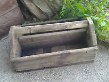 Old Antique Primitive Handmade Wood Tool Box From Old-Time Farm Auction #1