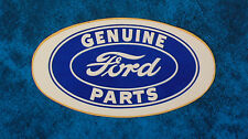 Vintage  sticker ..  GENUINE FORD PARTS
