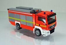 """Herpa 091077-002 MAN TGS M Euro 6 Rüstwagen """" Feuerwehr """" leuchtrot - neutral"""