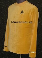 Star Fleet CUSTOM-MADE 1st Pilot star TREK Costume ANYSIZE Uniform Shirt