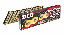 SUPER Non-Seal Chain 428NZ Gold & Black [Clip (RJ) Joint Included] HONDA MTX125