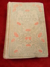"""OLD ANTIQUE 1909 BOOK """"FIVE LITTLE PEPPERS AND HOW THEY GREW"""", MARGARET SIDNEY"""
