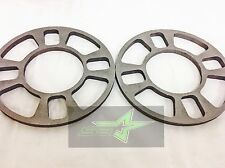 2x WHEEL SPACERS 8MM 5/16 | FITS 4x98 4X100 4X108 4x110 4X114.3 4X120 4X4.5
