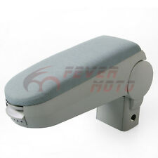 For 99 -2004 VW MK4 Golf Jetta Bora Cloth Front Center Console Armrest Grey FM