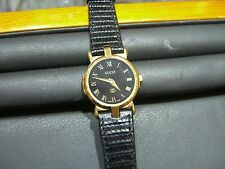 WOMENS GOLD GUCCI Swiss Made Luxury 3400 series WATCH, Roman Numerals PRE-OWNED