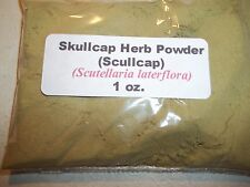 1 oz. Skullcap Herb Powder (Scutellaria Lateriflora) Scullcap