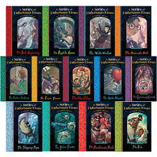 A Series of Unfortunate Events by Lemony Snicket 1-13 Book collection Set NEW CA